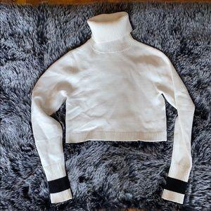 Zara Crop Turtleneck Sweater- Size M